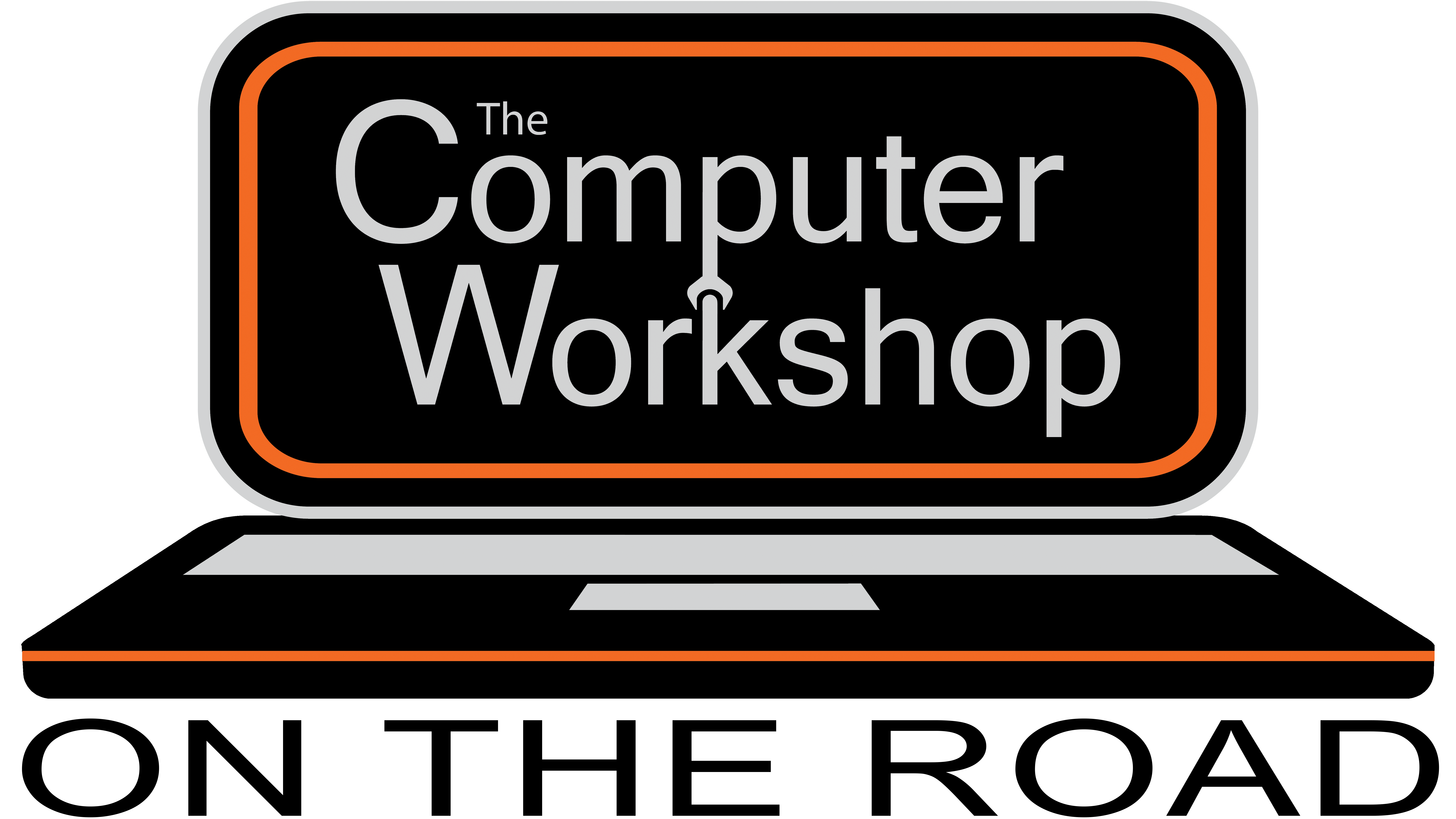 The Computer Workshop On The Road Logo